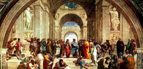 Raffaello-Sanzio-da-Urbino-Scuola-di-Atene-school-of-athens-detail-Philosophy-Introduction-Peter-Crawford